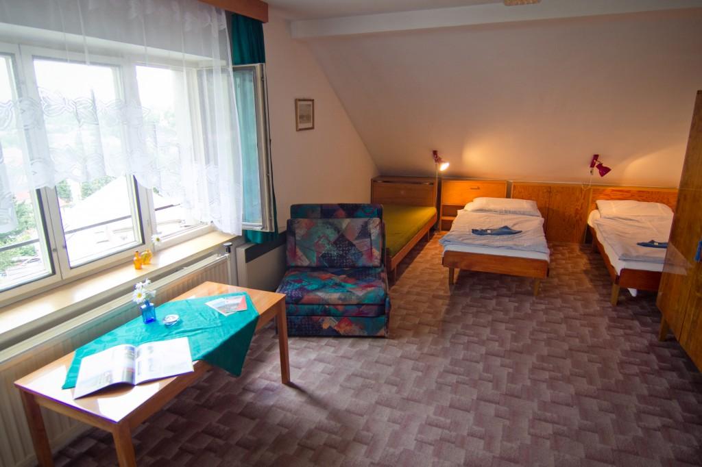 Pokoj č. 4 (Penzion Červinková - Ubytování Rychnov nad Kněžnou
